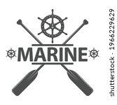 theme marin  style vintage... | Shutterstock .eps vector #1966229629