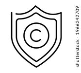 monochrome copyright protection ... | Shutterstock .eps vector #1966242709