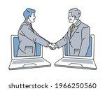 illustration of business ... | Shutterstock .eps vector #1966250560