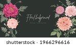 banner design template. vector... | Shutterstock .eps vector #1966296616