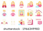 mother day related vector icon...   Shutterstock .eps vector #1966349983