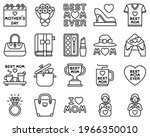 mother day related vector icon...   Shutterstock .eps vector #1966350010