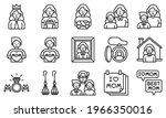 mother day related vector icon...   Shutterstock .eps vector #1966350016