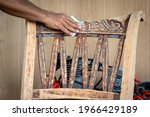 the man who is a furniture...   Shutterstock . vector #1966429189