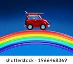 Car Surfing Riding On A Rainbow ...