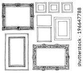 molding on white | Shutterstock .eps vector #196647788