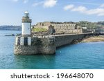 Saint Peter Port  Guernsey  Uk...