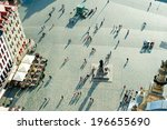 aerial view of  neumarkt square ... | Shutterstock . vector #196655690