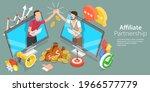 3d isometric flat vector... | Shutterstock .eps vector #1966577779