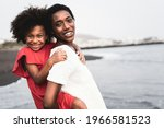 Black Mother And Daughter...