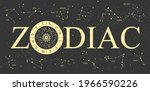modern magic witchcraft...   Shutterstock .eps vector #1966590226
