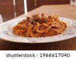 Homemade Spaghetti Bolognese...