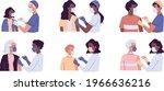 vaccination  immunization...   Shutterstock .eps vector #1966636216