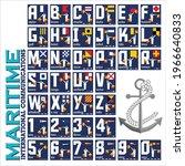 nautical alphabet ...   Shutterstock .eps vector #1966640833