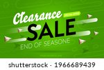 clearance sale with special... | Shutterstock .eps vector #1966689439