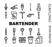 bartender accessory collection... | Shutterstock .eps vector #1966714876