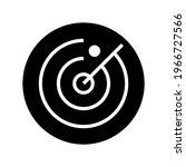 radar icon or logo isolated... | Shutterstock .eps vector #1966727566