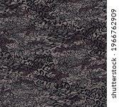 seamless leopard skin  pattern... | Shutterstock .eps vector #1966762909