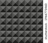 acoustic foam seamless pattern. ...   Shutterstock .eps vector #1966773460