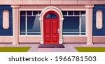 store window  shop building...   Shutterstock .eps vector #1966781503