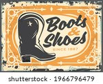 boots and shoes antique store... | Shutterstock .eps vector #1966796479