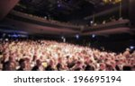 people crowd  intentionally... | Shutterstock . vector #196695194