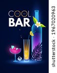 cocktail party and bar shining...   Shutterstock .eps vector #1967020963
