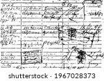 grunge texture of an old...   Shutterstock .eps vector #1967028373