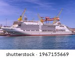 Cruise Ship Under Construction...