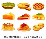 pies and cakes  pancakes and... | Shutterstock .eps vector #1967162536