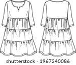 Voluminous Fashion Dress ...