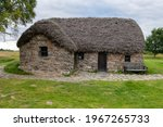 Old Leanach cottage on Culloden Battlefield was said to be used as a hospital by the redcoats  during the battle of 1746