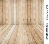 big brown floors wood planks... | Shutterstock . vector #196728146