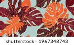 floral seamless decorative... | Shutterstock .eps vector #1967348743