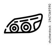 headlight car line icon vector. ... | Shutterstock .eps vector #1967369590