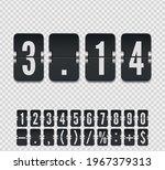 analog black countdown timer...