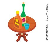 alcoholic beverage icon....   Shutterstock .eps vector #1967405533