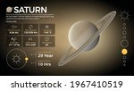 the solar system saturn and its ...   Shutterstock .eps vector #1967410519