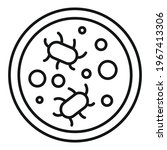 digestion bacteria icon....   Shutterstock .eps vector #1967413306