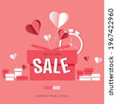 sale banner with present design.... | Shutterstock .eps vector #1967422960