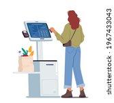 contactless payment ...   Shutterstock .eps vector #1967433043