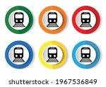 railway  train  subway ... | Shutterstock .eps vector #1967536849