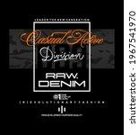 raw denim  modern and stylish... | Shutterstock .eps vector #1967541970