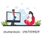 online doctor concept... | Shutterstock .eps vector #1967559829