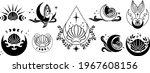 ocean witchy magic... | Shutterstock .eps vector #1967608156