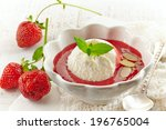 cold strawberry soup with... | Shutterstock . vector #196765004