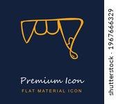 fangs outline premium material...