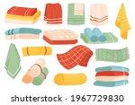 towels for bathroom vector...   Shutterstock .eps vector #1967729830