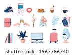 cute casual sticker set for... | Shutterstock .eps vector #1967786740