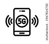 5g line vector icon. network...   Shutterstock .eps vector #1967814730